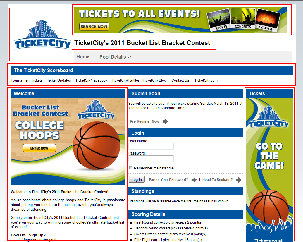 TicketCity White-Labeling Example